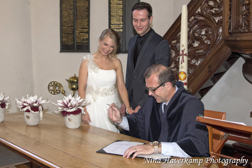 Trouwceremonie Lilo & Geert